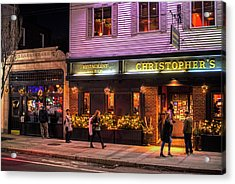 Christopher's And The Toad Cambridge Ma Porter Square Acrylic Print