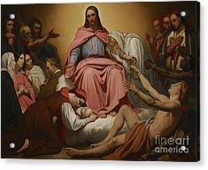 Christus Consolator Acrylic Print by Ary Scheffer
