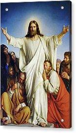 Christus Consolator Acrylic Print