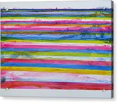 Chroma Flow Acrylic Print by Tom Hefko