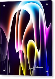 Chromasine Acrylic Print by Anthony Caruso