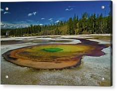 Acrylic Print featuring the photograph Chromatic Pool by Roger Mullenhour