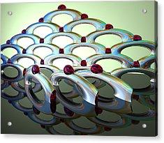 Chrome Sundae Acrylic Print by Scott Piers