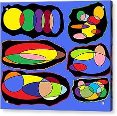 Chromosones Acrylic Print by Justin West