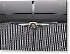 Chrysler 300 Logo And Grill Acrylic Print