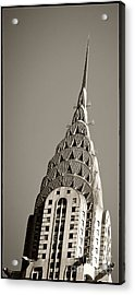Chrysler Building New York City Acrylic Print by Juergen Held