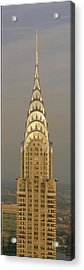 Chrysler Building New York Ny Acrylic Print by Panoramic Images