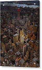 Chrysler Building Nyc Skyline Acrylic Print