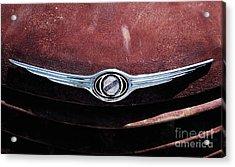 Chrysler Hood Acrylic Print