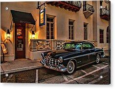 Chrysler Imperial Casa Monica Hotel Acrylic Print