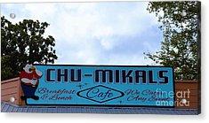Chu - Mikals - Friendly Austin Texas Charm Acrylic Print