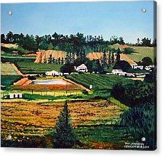 Chubby's Farm Acrylic Print