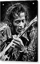 Chuck Berry Acrylic Print