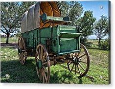 Chuck Wagon Acrylic Print
