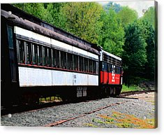Acrylic Print featuring the photograph Chugging Along by RC DeWinter