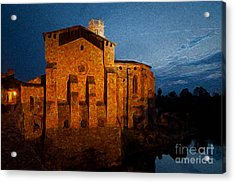 Acrylic Print featuring the photograph Church 1 by Jean Bernard Roussilhe