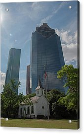 Church And State Acrylic Print by Joshua House