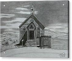 Church  At Bodie  Acrylic Print