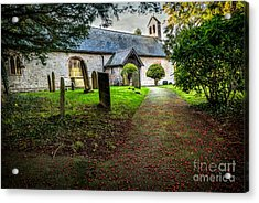 Church Berries Acrylic Print