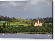 Church Birnau Lake Constance In Great Landscape Acrylic Print