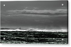 Church By The Sea Acrylic Print