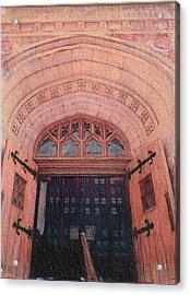 Church Doors Acrylic Print by Kenny King
