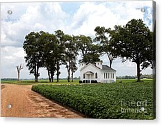 Church From The Help Movie In Mississippi Acrylic Print
