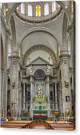 Church In Guanajuato Acrylic Print by Juli Scalzi