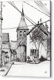 Church In Laignes Acrylic Print