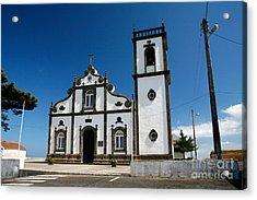 Church In The Azores Acrylic Print by Gaspar Avila