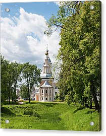 Church In The Town Of Uglich Acrylic Print