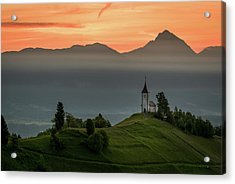 Church Jamnik Acrylic Print