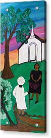 Church Ladies  Acrylic Print