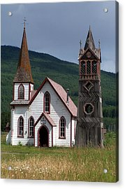 Church Acrylic Print by Marty Koch