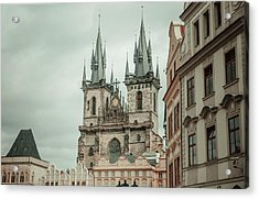 Acrylic Print featuring the photograph Church Of Our Lady Before Tyn by Jenny Rainbow