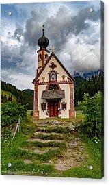 Church Of Saint Johann  Acrylic Print