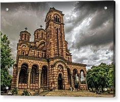 Church Of Saint Mark Acrylic Print