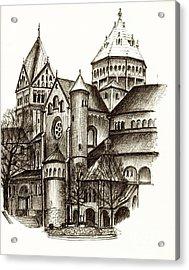Church Of St. Anna Munich Acrylic Print