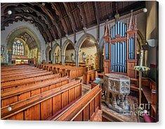 Church Of St. David Acrylic Print by Adrian Evans
