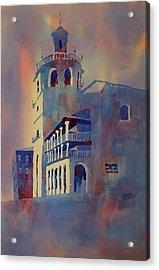 Church Of St. Mary Ronda Spain Acrylic Print
