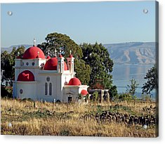 Church Of The Apostles Acrylic Print by Arik Baltinester