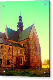Church Of The Blessed Virgin Mary And St. Florian In The Wachock Acrylic Print