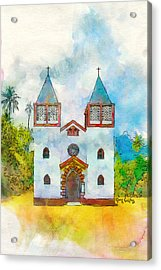 Church Of The Holy Family Acrylic Print