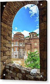 Church Of The Holy Luke At Monastery Of Hosios Loukas In Greece Acrylic Print by Global Light Photography - Nicole Leffer
