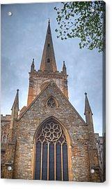 Church Of The Holy Trinity Stratford Upon Avon 1 Acrylic Print by Douglas Barnett
