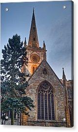 Church Of The Holy Trinity Stratford Upon Avon 4 Acrylic Print by Douglas Barnett