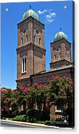 Acrylic Print featuring the photograph Church Of The Immaculate Conception One by Ken Frischkorn