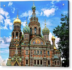 Church Of The Spilled Blood Acrylic Print by Gary Little