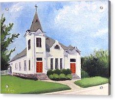 Church On 12th South, Nashville Acrylic Print