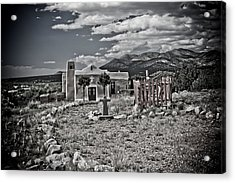 Church On The Hill Acrylic Print by Jill Smith